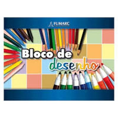 BLOCO DE DESENHO A4 FUMARC
