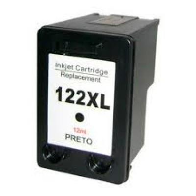 CARTUCHO HP 122 XL PRETO COMPATIVEL