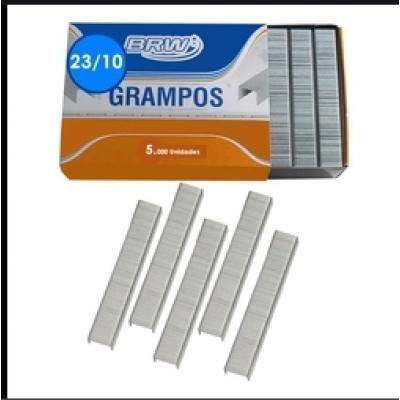 Grampo 23/10 Galvanizado 5000 Unidades Brw