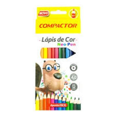 LAPIS DE COR C/ 12 CORES NEO PEN KIT