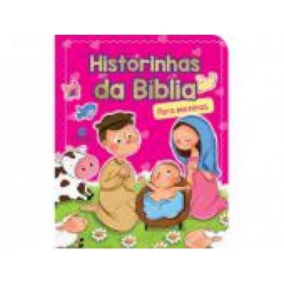 LIVRO INFANTIL HISTORINHAS DA BIBLIA MENINAS
