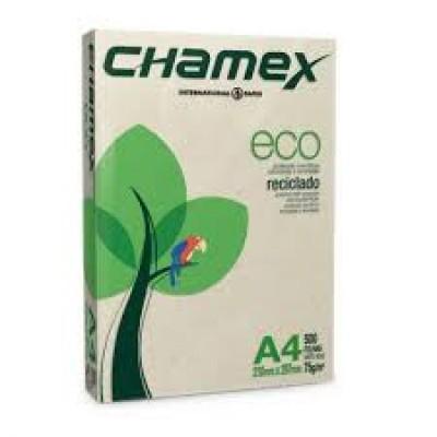 PAPEL A4 CHAMEX ECO PCT C/ 500 FLS