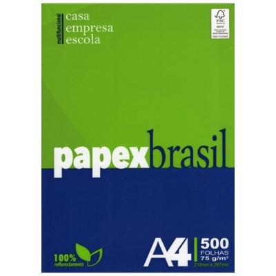 PAPEL A4  BRANCO PAPEX DO BRASIL C/ 500 FLS