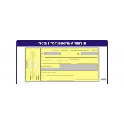 BLOCO  DE NOTA PROMISSORIA C/ 50 LS
