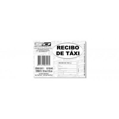BLOCO RECIBO DE TAXI C/ 50 FLS
