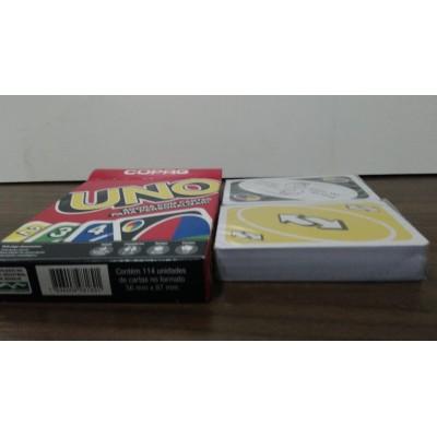 Jogo De Cartas Uno Original Copag Mattel