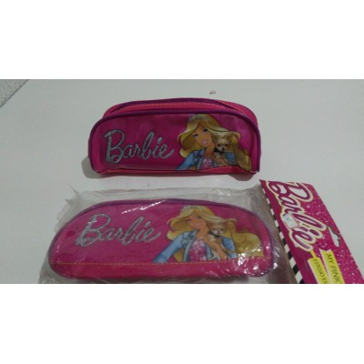 Estojo Infantil Sestini 1 Compartimento Rosa Barbie