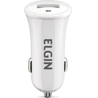 Carregador Veicular Para Celular E Tablet Original Elgin